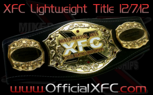 XFC Lightweight belt