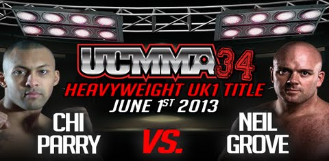 UCMMA 34 takes place on June 1st at The Troxy Theatre in London