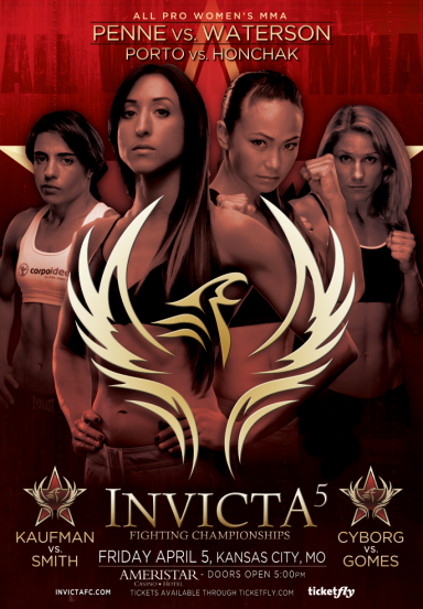 FEATURING THE HIGHLY-ANTICIPATED INVICTA FC DEBUTS OF SUPERSTARS CRIS CYBORG AND ZOILA FRAUSTO GURGEL